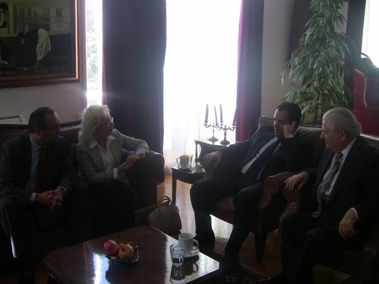 Ο Α. Γεωργιάδης στο υπουργείο Μακεδονίας-Θράκης