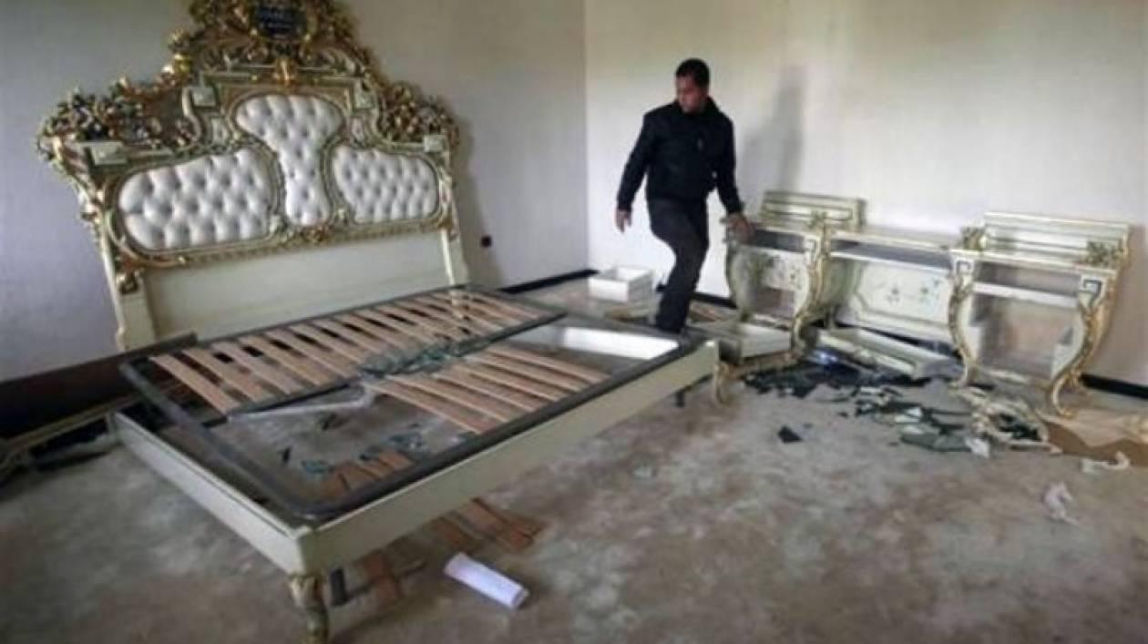 Το παλάτι του Καντάφι γίνεται πάρκο αναψυχής