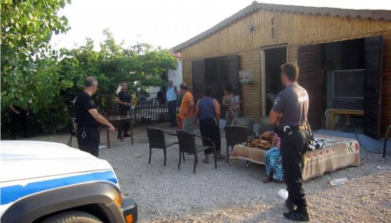 Μεγάλη αστυνομική επιχείρηση σε δύο καταυλισμούς Ρομά