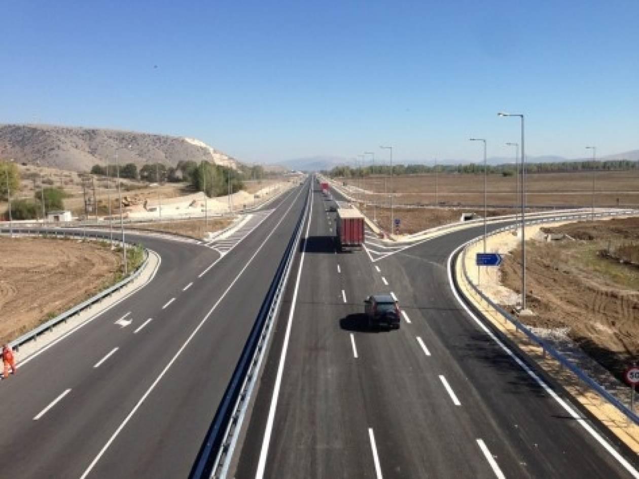 Στην κυκλοφορία νέο τμήμα της εθνικής οδού Λάρισας - Τρικάλων