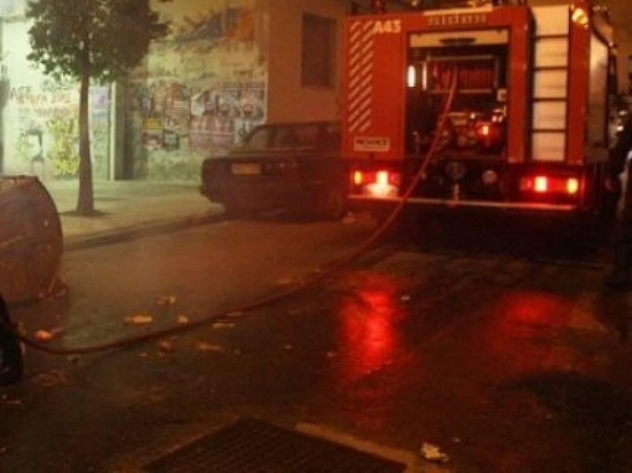 Φωτιά σε αποθήκη στην Κρήτη