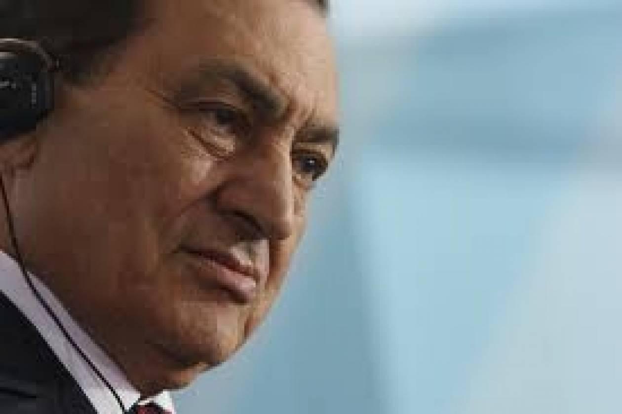 Αναβλήθηκε η δίκη του Χόσνι Μουμπάρακ