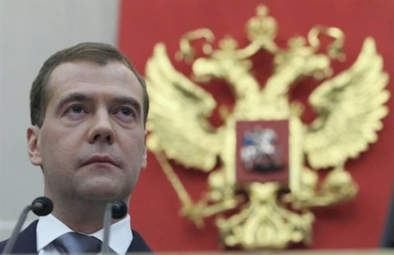 Μεντβέντεφ: Η ανάπτυξη στην καλύτερη περίπτωση θα είναι 2% το 2013