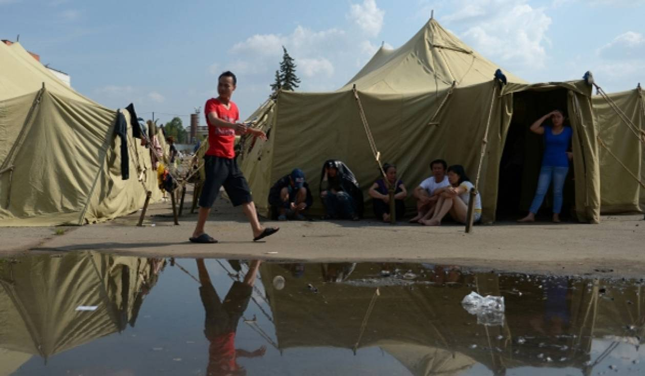 Ρωσία: 81 ειδικά κέντρα για τους μετανάστες