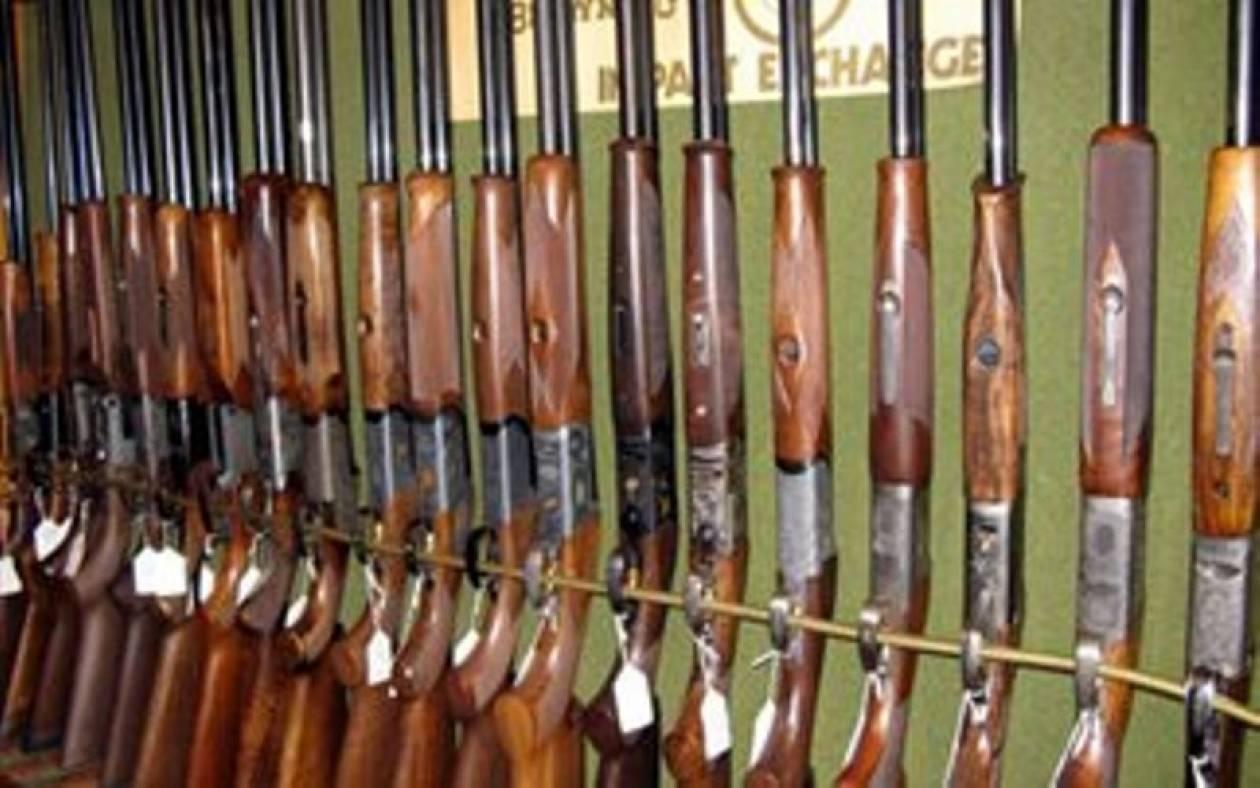 Συλλήψεις σε όσους δεν ανανεώνουν τις άδειες οπλοκατοχής