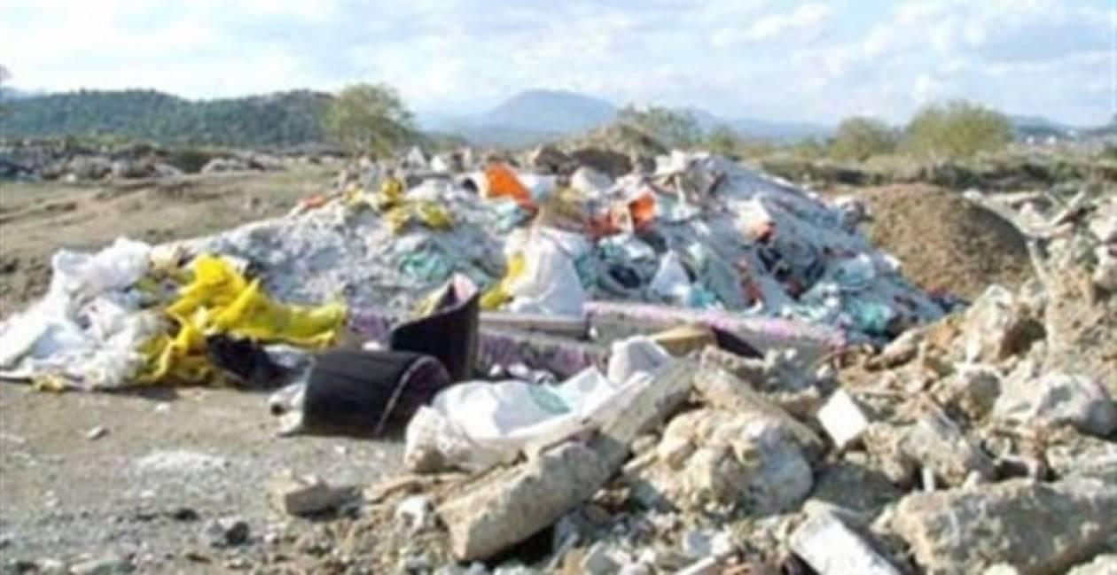 Έκλεισε παράνομη χωματερή στην Ηλεία