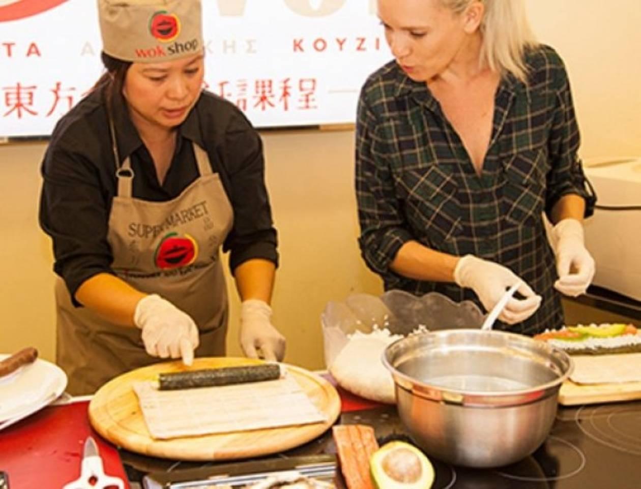 Μαθήμα Μαγερικής: Φτιάξτε τέλειο sushi στο σπίτι!