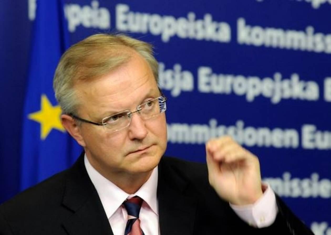 Όλι Ρεν: Η κατάσταση είναι πολύ δύσκολη για τους Έλληνες