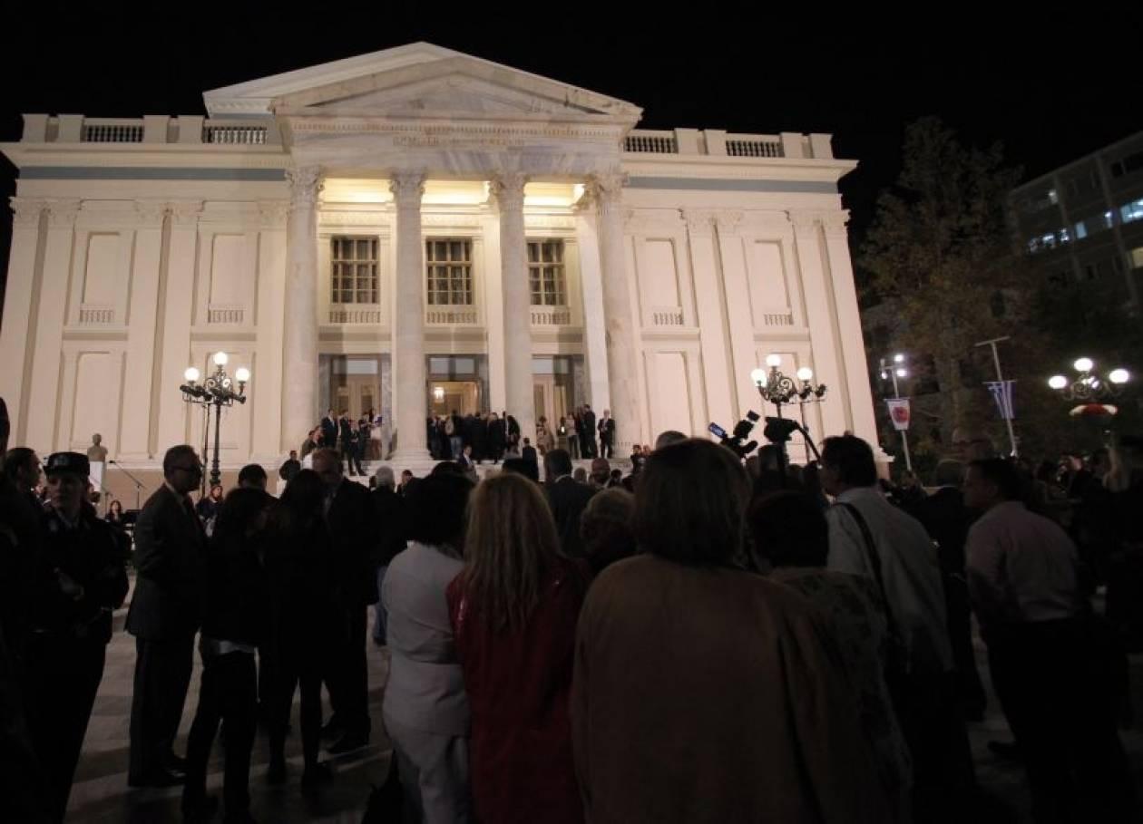 «Το Δημοτ. θέατρο Πειραιά είναι σύμβολο μιας χώρας που ξαναγεννιέται»