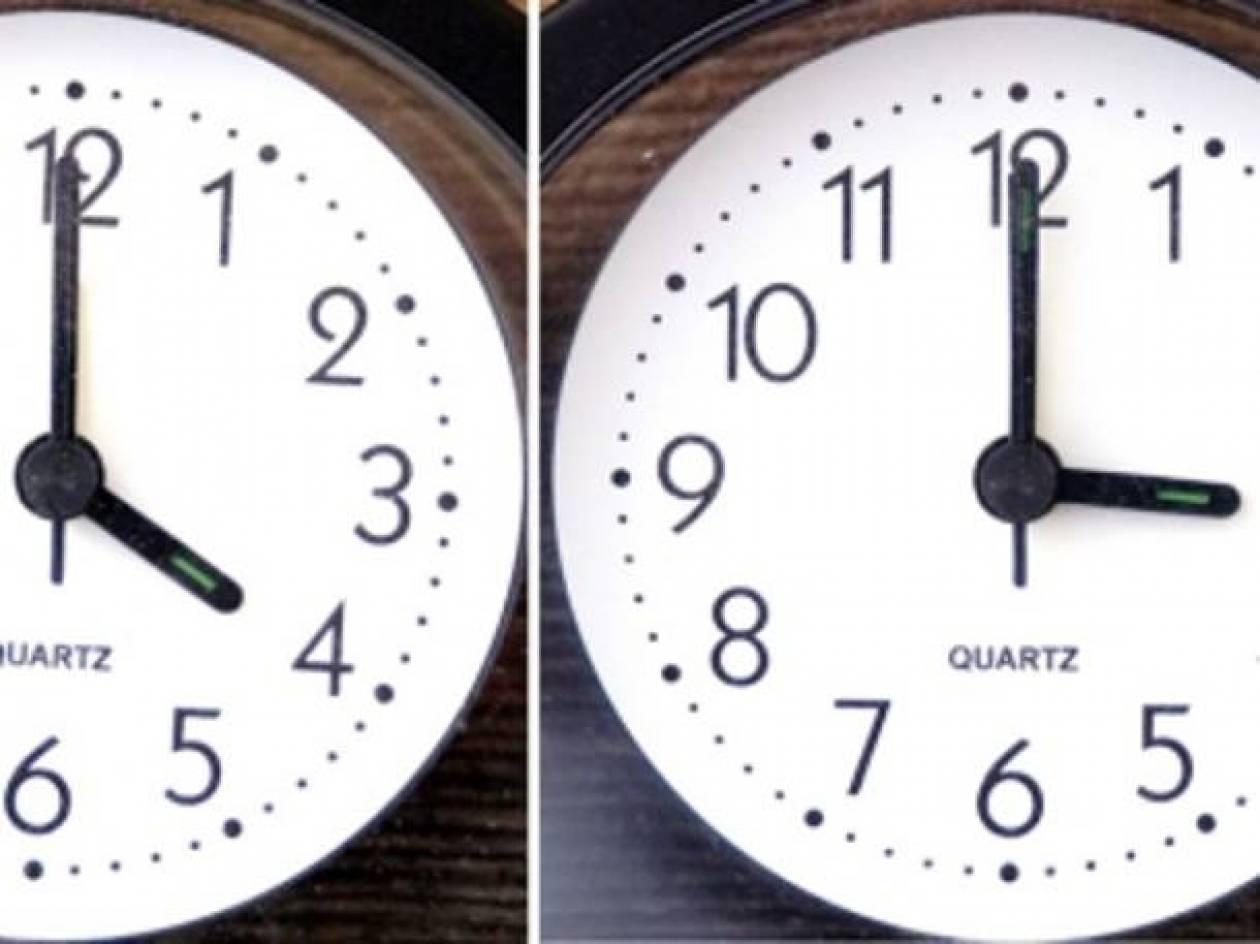 Αλλαγή ώρας 2013: Πότε αλλάζει η ώρα σε χειμερινή