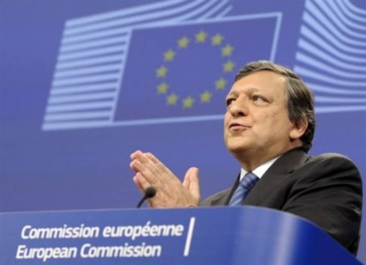 Υπέρ της ένταξης των Δ. Βαλκανίων και της Τουρκίας στην ΕΕ ο Μπαρόζο