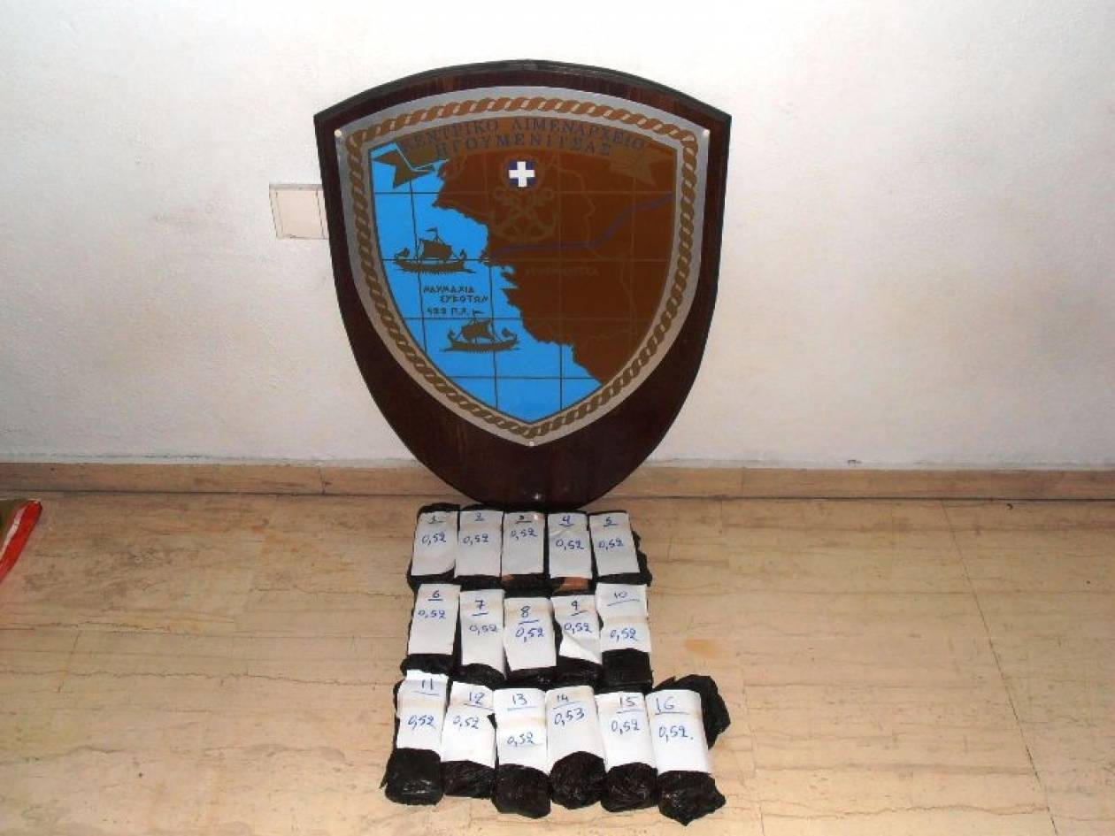 Ηγουμενίτσα: Είχε τα ναρκωτικά κρυμμένα στο ταμπλό του οχήματος (φώτο)