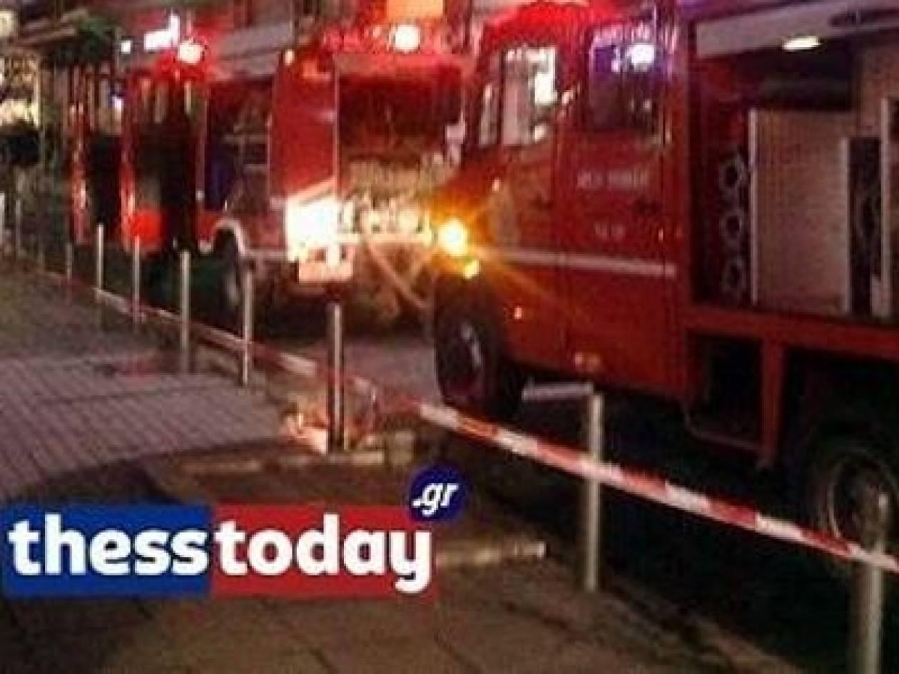 Κάηκαν δύο Ι.Χ. στη Θεσσαλονίκη
