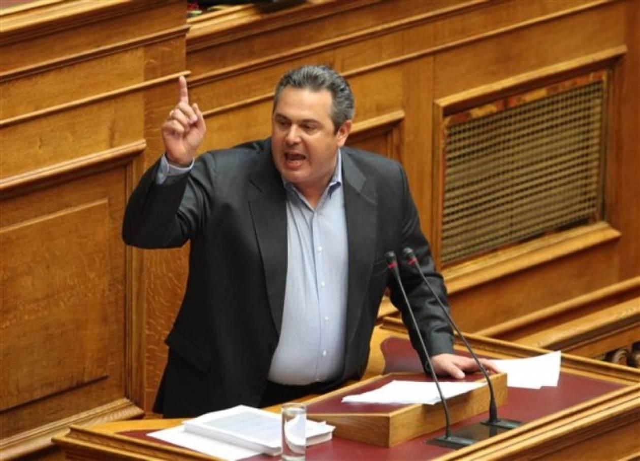 Καμμένος: Άδικο να είναι μόνο ο Τσοχατζόπουλος στη φυλακή