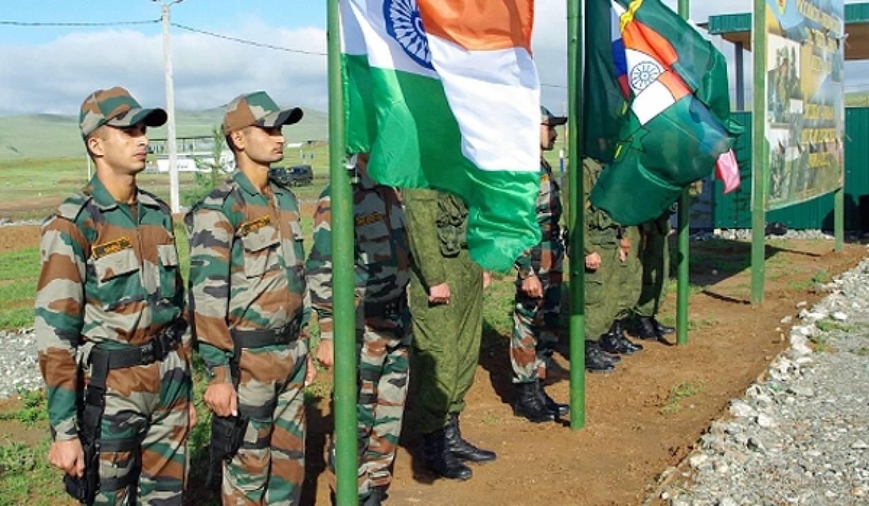 Αντιτρομοκρατική άσκηση Ινδίας-Ρωσίας Indra 2013