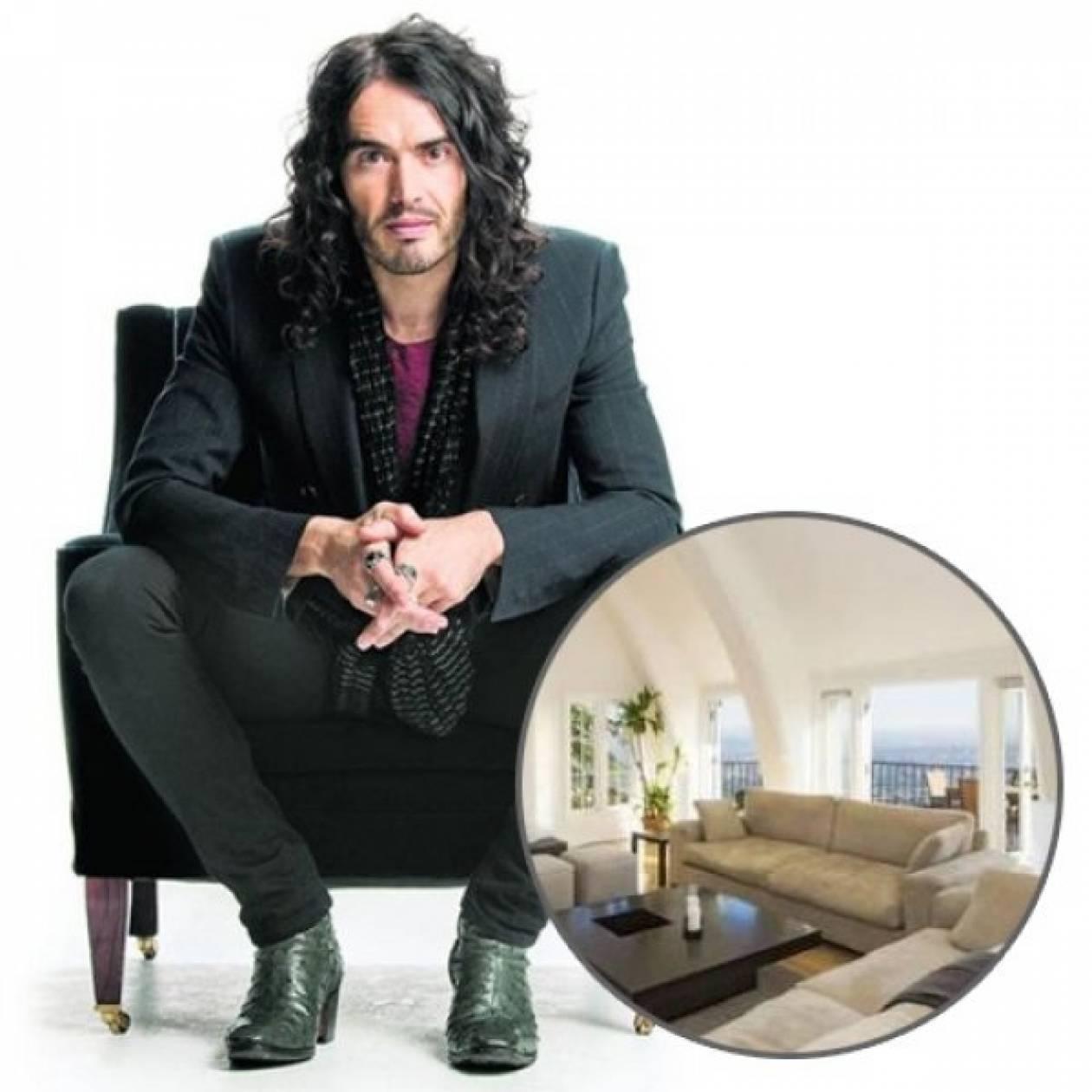 Το νέο, εργένικο σπίτι του Russell Brand