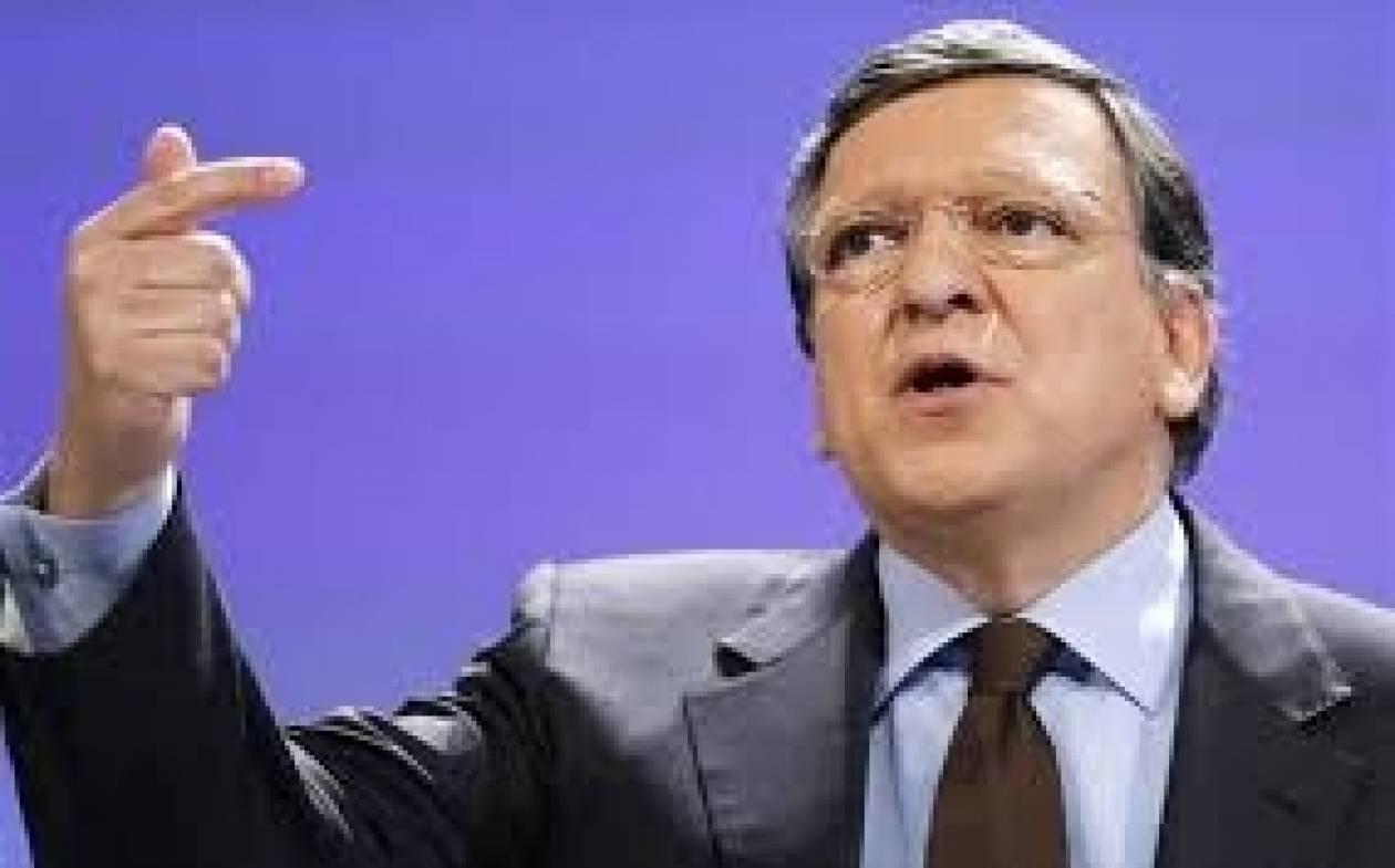 Μπαρόζο: «Όχι» σε νέο κούρεμα του ελληνικού χρέους