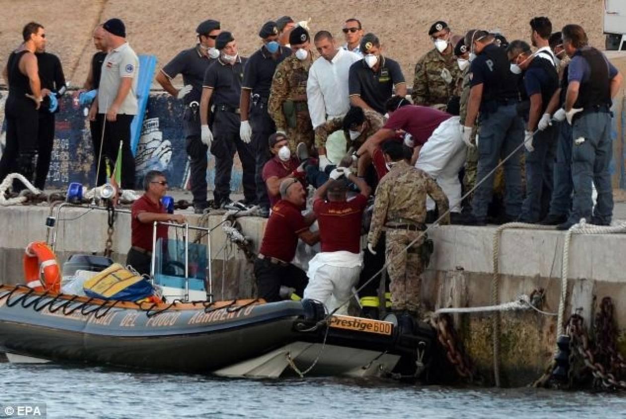 Λαμπεντούζα:Διασώθηκαν 800 μετανάστες
