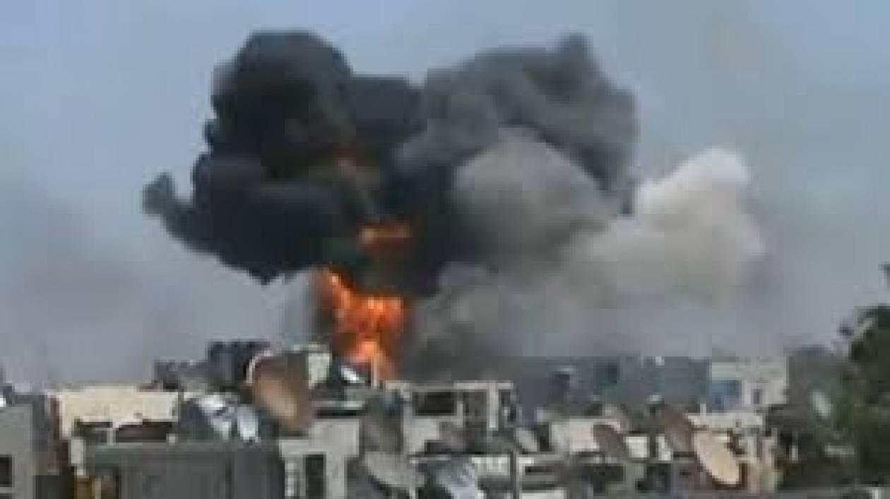 Συρία:Ισχυρή έκρηξη συγκλονίζει τη Νταράα (βίντεο)