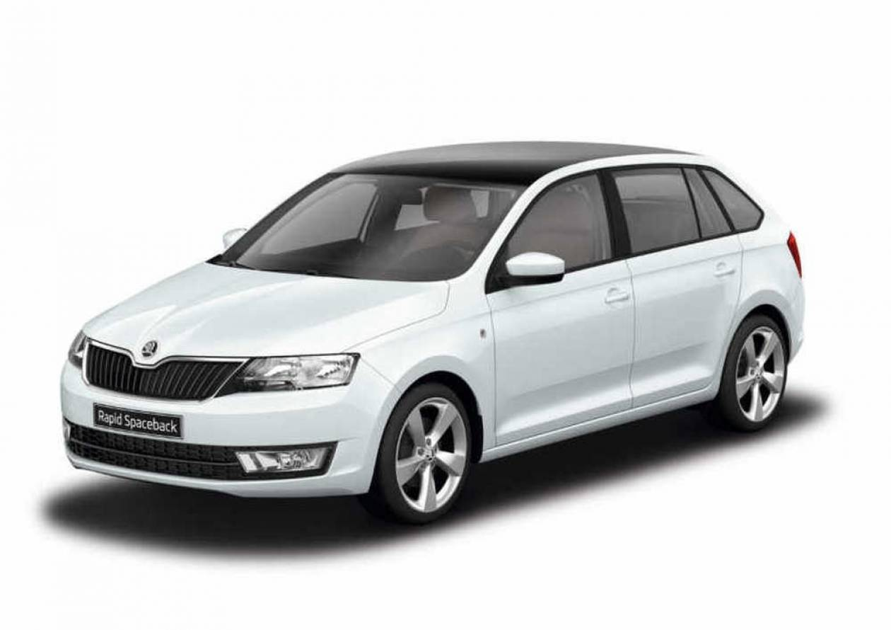 Πρεμιέρα Skoda Rapid Spaceback @ Athens Motors Show