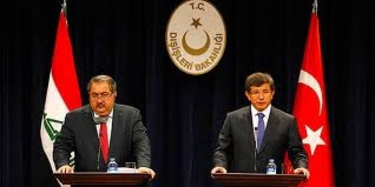Νταβούτογλου-Ζεμπάρι υπέρ μεγαλύτερης συνεργασίας Τουρκίας-Ιράκ