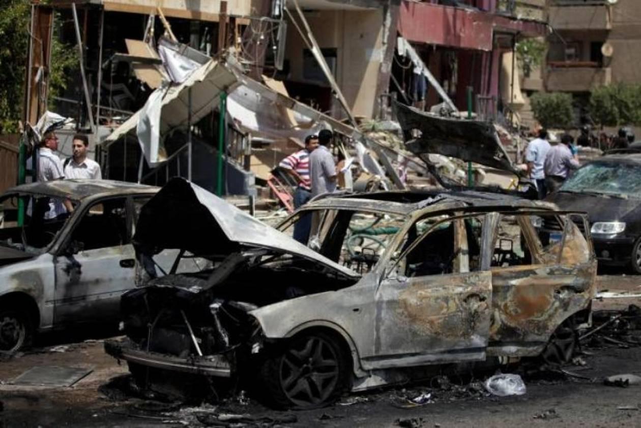 Έκρηξη με 40 νεκρούς στη Δαμασκό