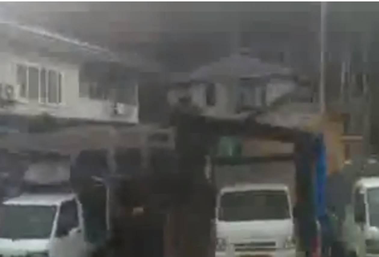 Βίντεο από τον σεισμό των 7,3 Ρίχτερ στην Ιαπωνία