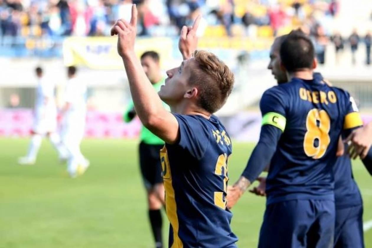 «Λάμψη» Αστέρα και Ντε Μπλάσις, 2-0 τον Λεβαδειακό