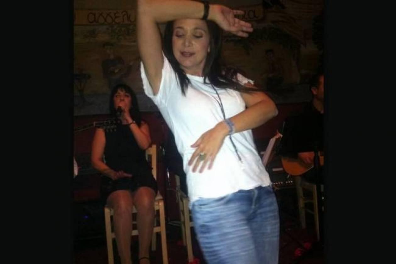 Η Χριστίνα Αλεξανιάν στο τσακίρ κέφι!