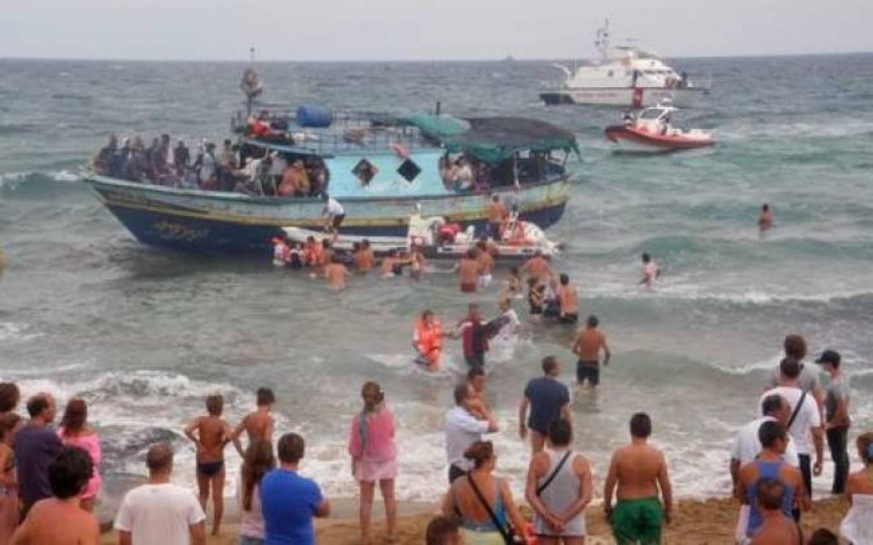 Σικελία: Οι Ιταλικές αρχές έσωσαν τουλάχιστον 400 λαθρομετανάστες