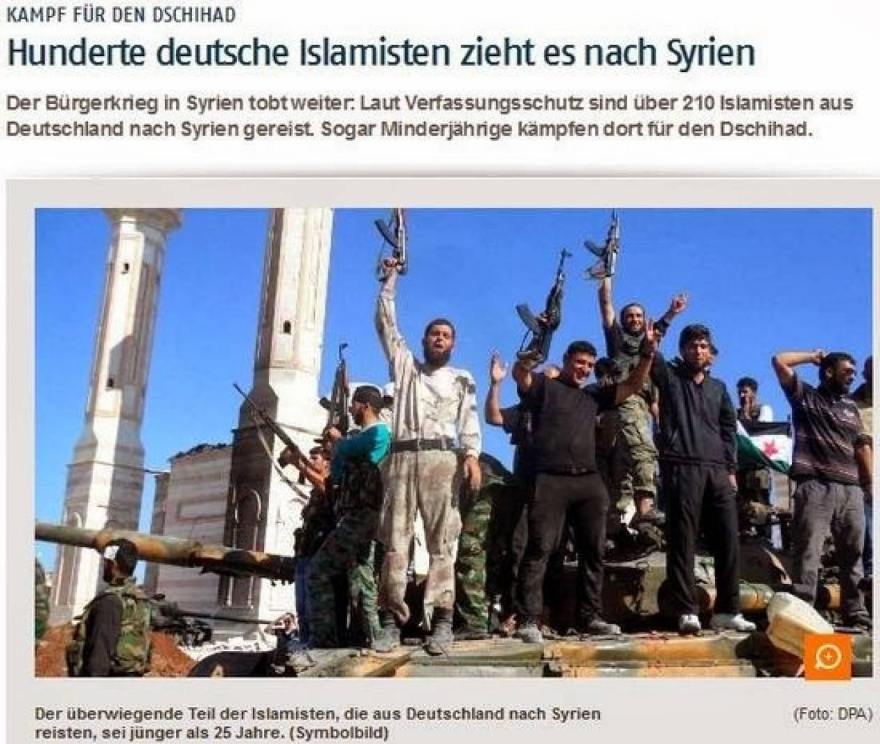 BND: Αύξηση Ισλαμιστών από Γερμανία στη Συρία
