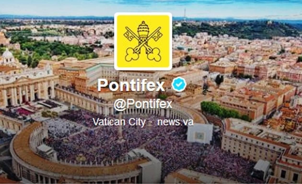 Twitter: Τους 10 εκατομμύρια followers έφτασε ο πάπας