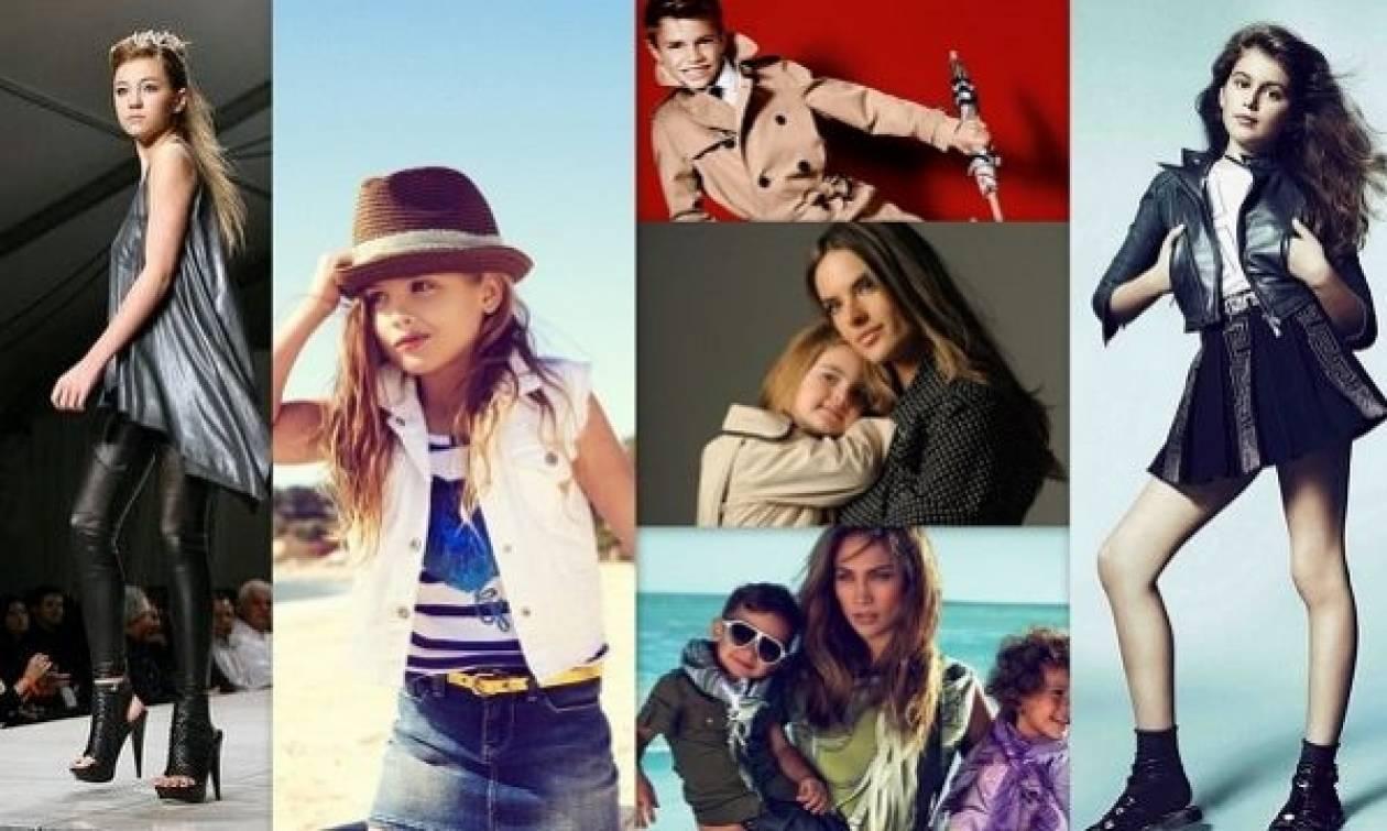 Δείτε παιδιά διάσημων γονιών να ποζάρουν ως επαγγελματίες μοντέλα!