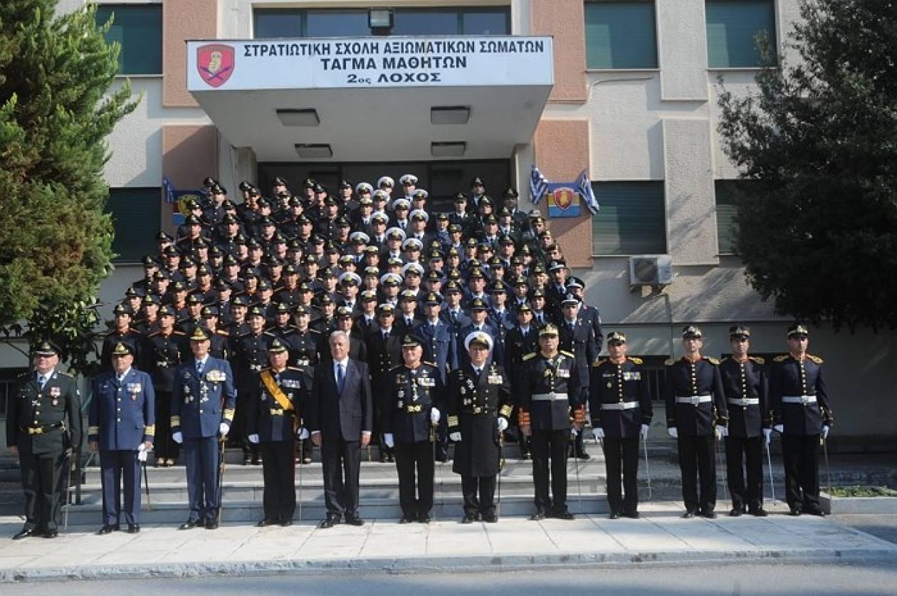 Ορκωμοσία νέων αξιωματικών ΣΣΑΣ παρουσία Α/ΓΕΕΘΑ