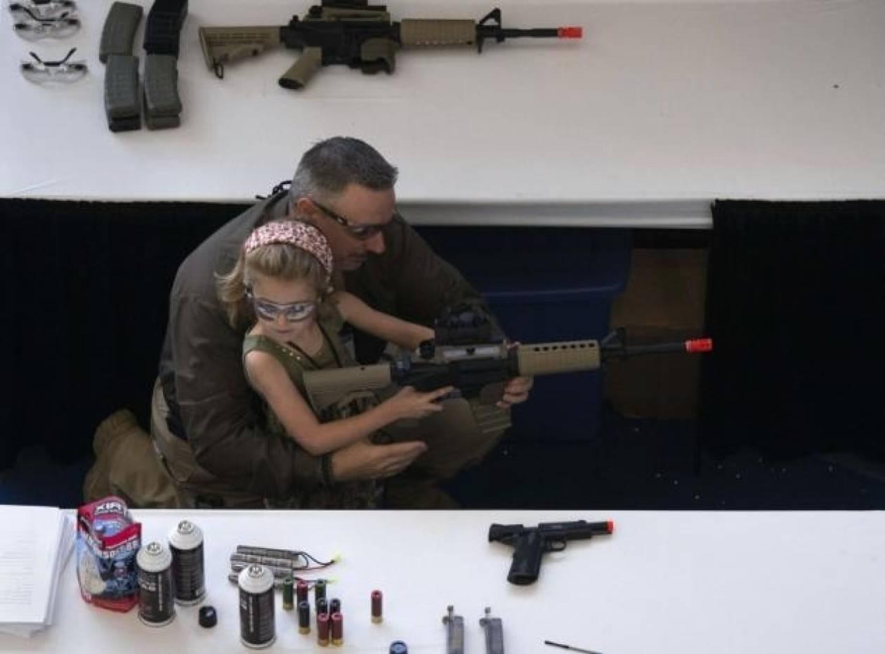 ΗΠΑ:500 παιδιά χάνουν τη ζωή τους από πυροβολισμούς ετησίως