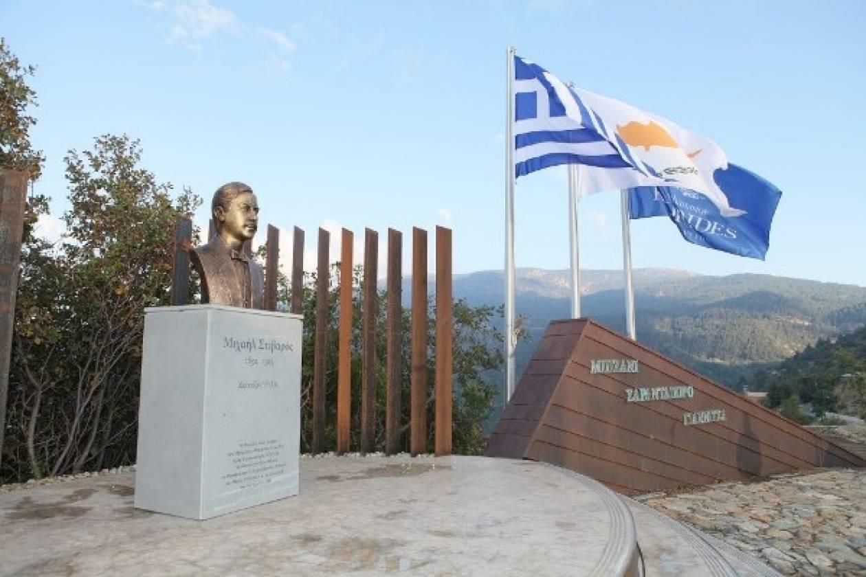 Αποκαλυπτήρια προτομής Κυπρίου που έπεσε πολεμώντας στο Μπιζάνι