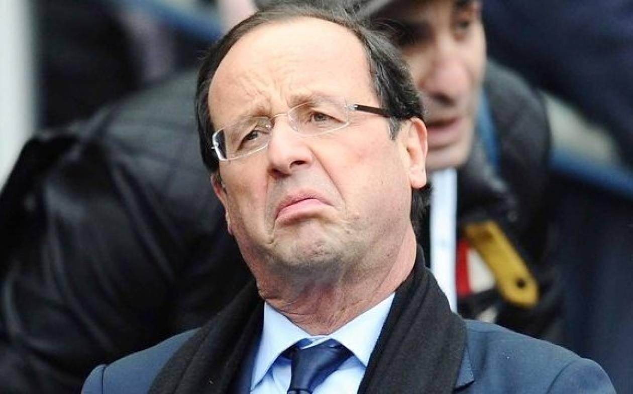 Γαλλία: Κατρακυλάνε τα ποσοστά δημοτικότητας του Ολάντ