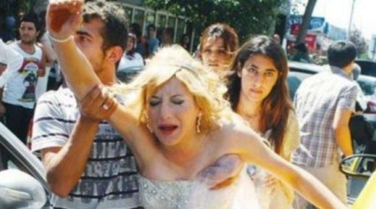 Η νύφη τα... έτσουξε λιγάκι! Απίστευτο βίντεο