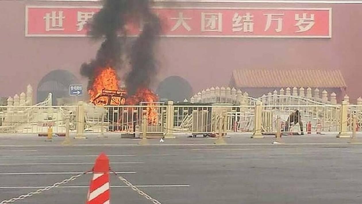 Κίνα:Κατονομάστηκαν δύο ύποπτοι για την επίθεση στην πλατεία Τιενανμέν