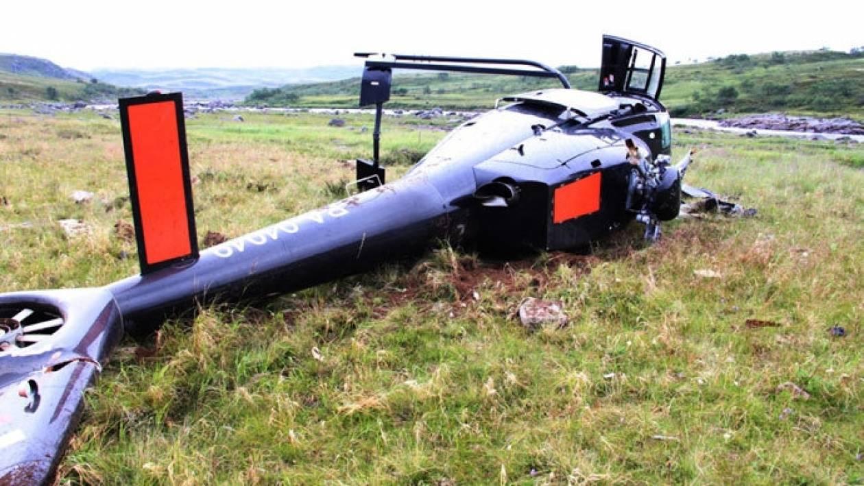ΕΚΤΑΚΤΟ:Συνετρίβη ελικόπτερο