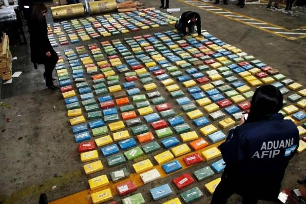 Κατάσχεση 100 κιλών κοκαΐνης και 10 συλλήψεις στην Αργεντινή