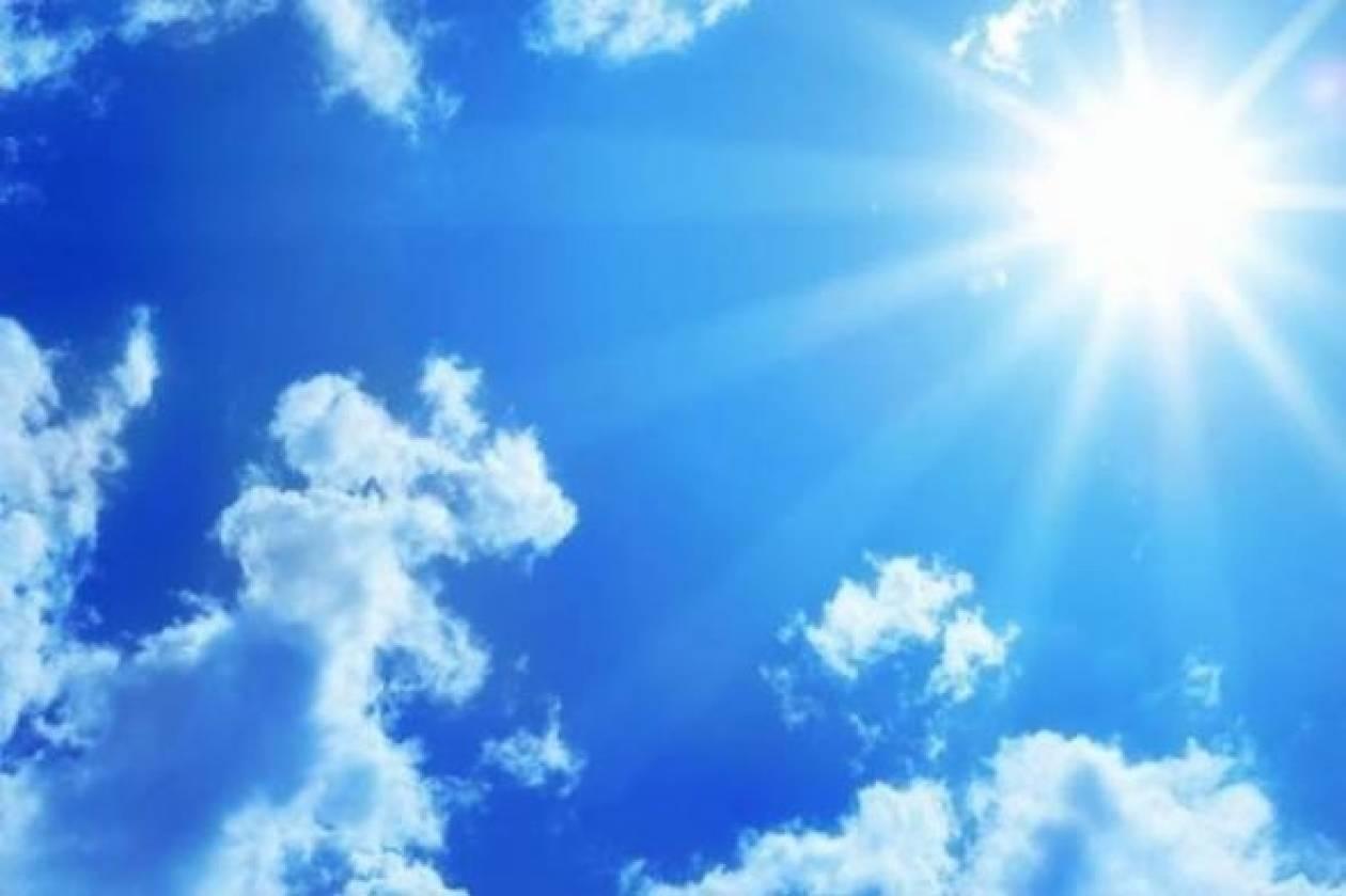 Αίθριος σήμερα ο καιρός με αραιή συννεφιά