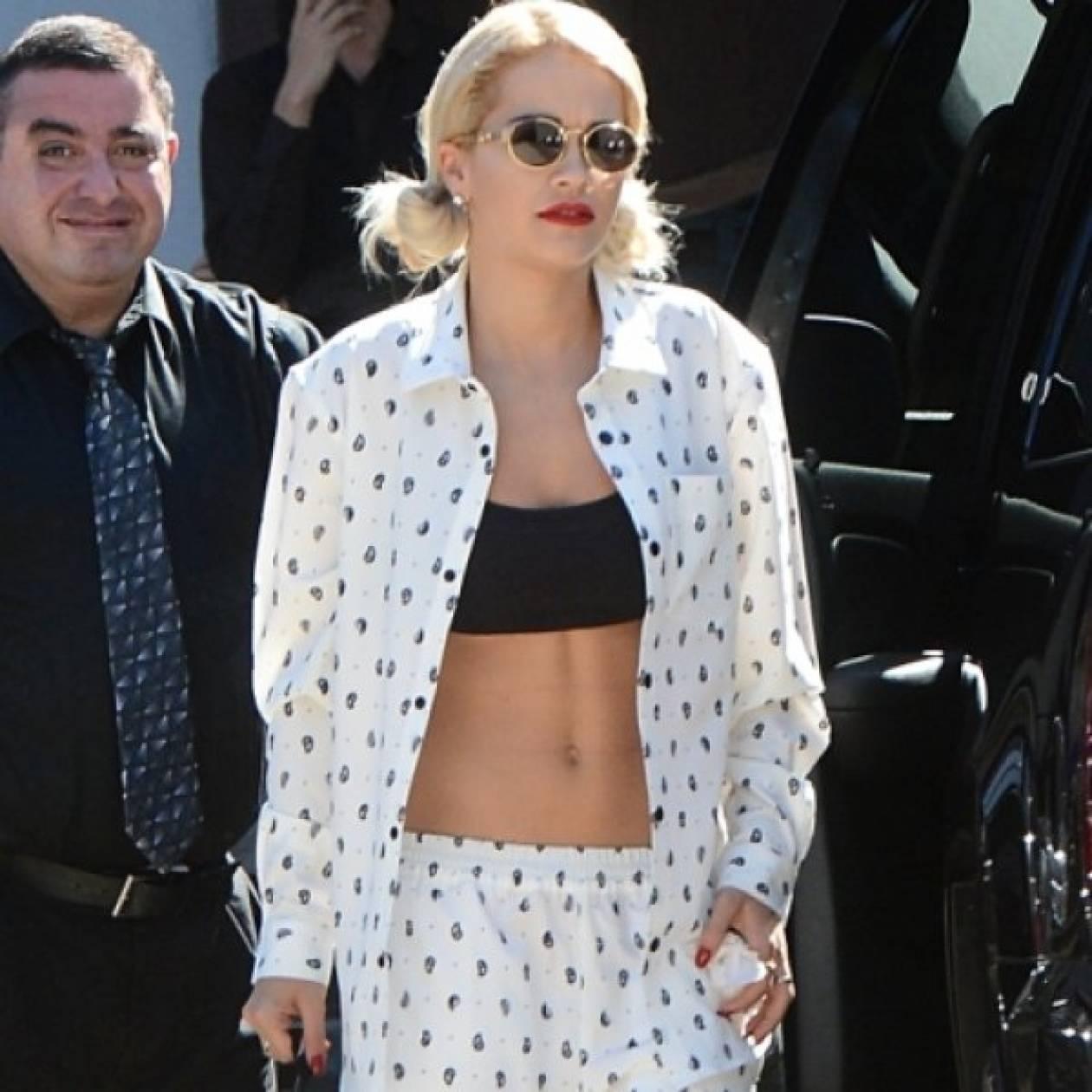 H Rita Ora σχεδιάζει για τα Adidas
