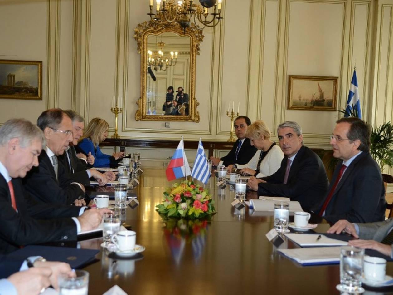 Δέσμευση Λαβρόφ για στήριξη της Ελλάδας