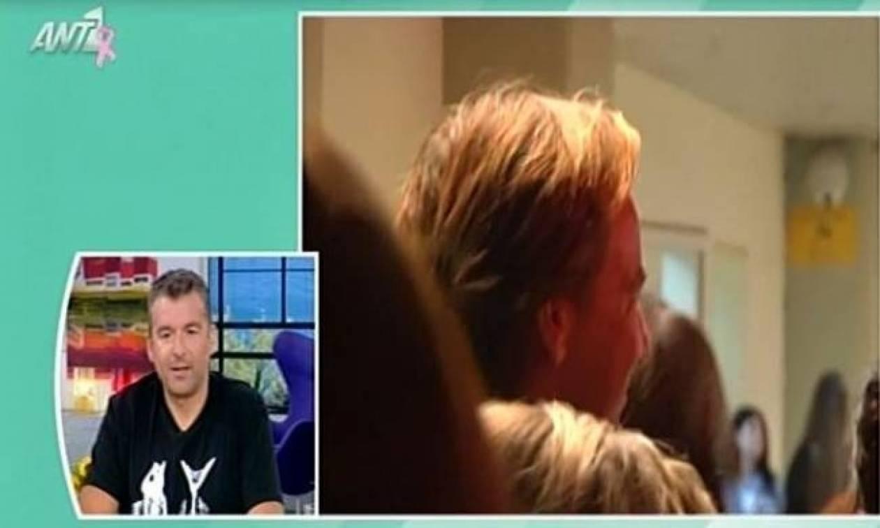 «Το πρωινό»: «Ο Ματέο Παντζόπουλος κάνει ανταύγειες στα μαλλιά του»