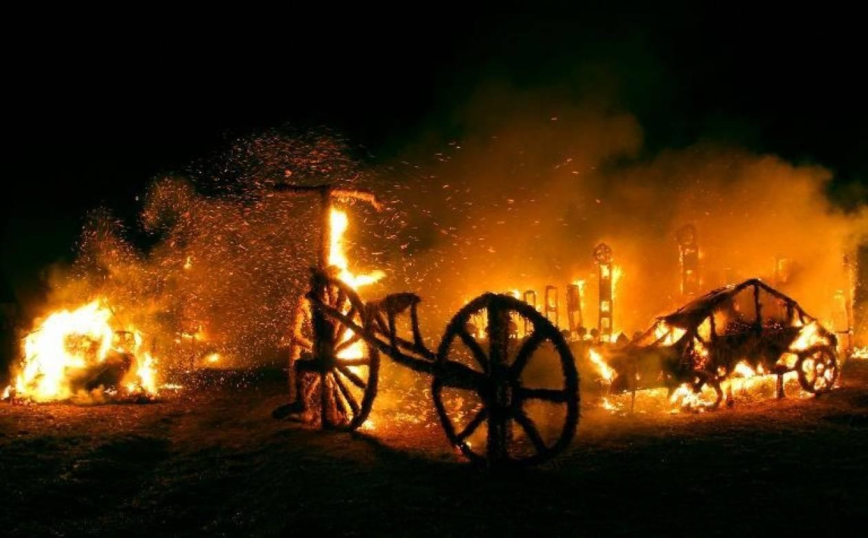 Χωριό της Λιθουανίας έγινε παρανάλωμα του πυρός
