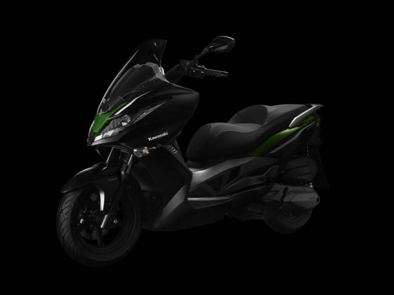 Kawasaki-Kymco εις σάρκαν μιαν στα Scooter