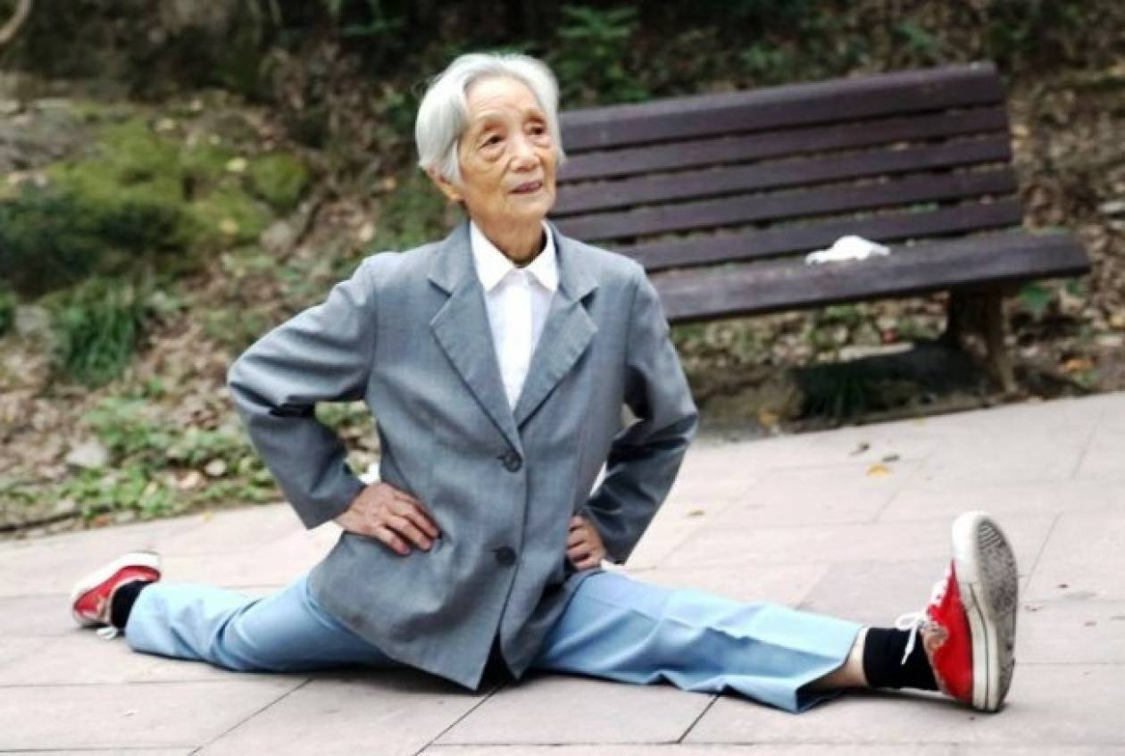 Απίστευτο! 86χρονή με κορμί... λάστιχο! (pic)