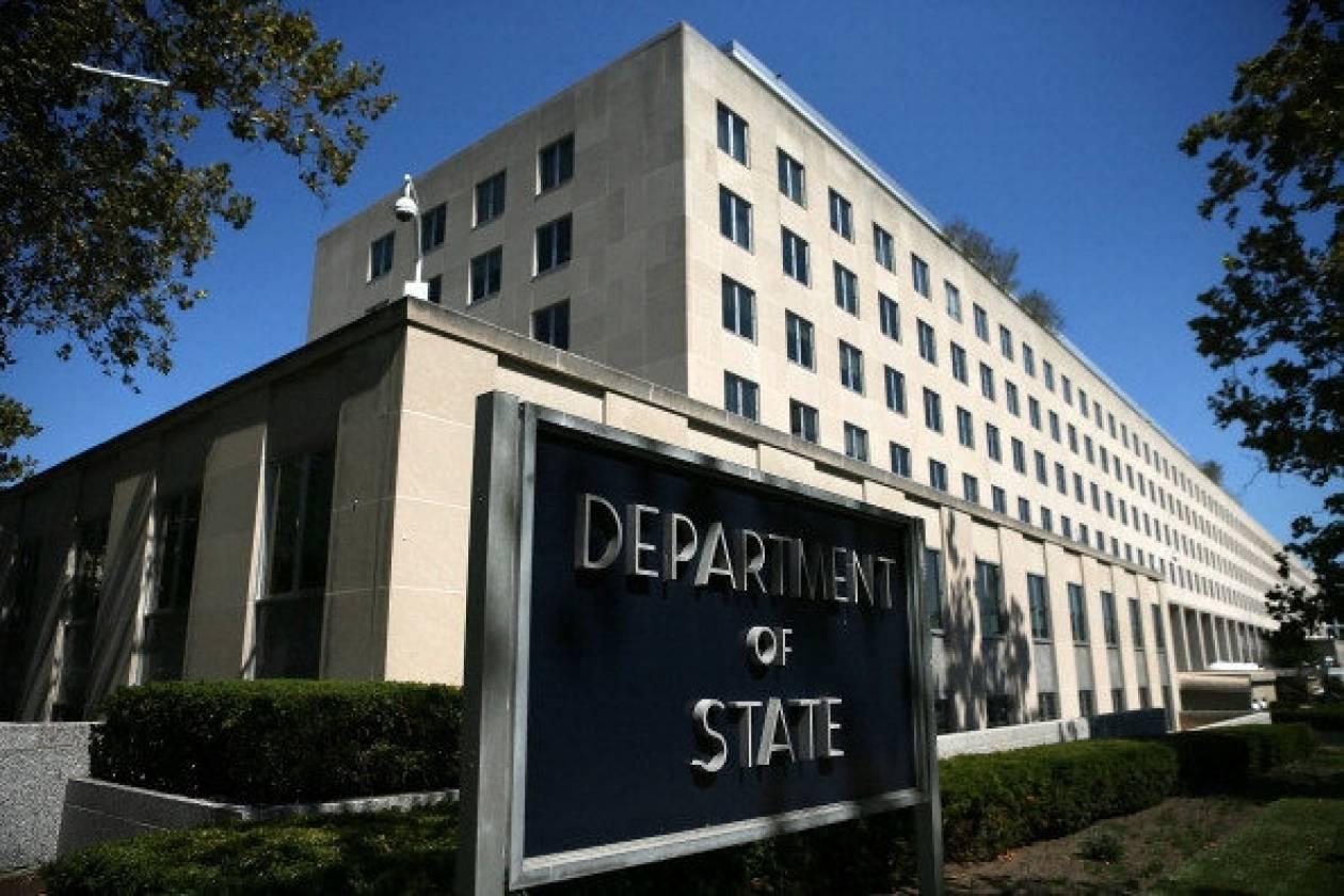 ΗΠΑ: Βρισκόμαστε σε «διαρκή διάλογο» με την Ελλάδα για διάφορα θέματα