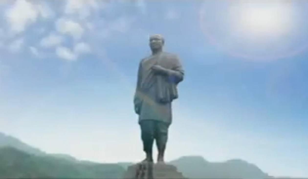 Ινδία: Αρχισε η κατασκευή του υψηλότερου αγάλματος στον κόσμο